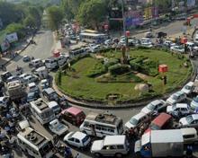 Traffic in Madhya Pradesh