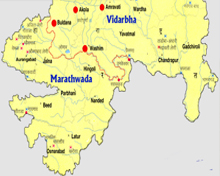 Vidharba and Marathwada Region of Maharashtra