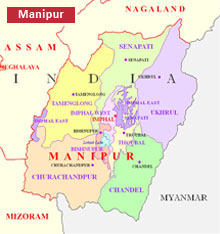Manipur Geography