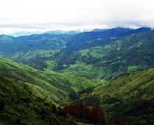 Manipur rugged hills