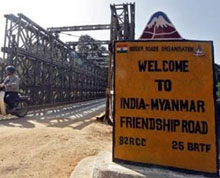 Gateway to south-east Asia of Manipur