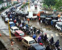 Traffic in Manipur