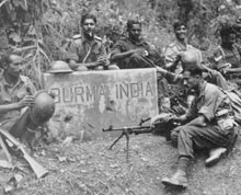 Manipur Grim war in Imphal during WW-II
