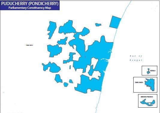 Pondicherry Election Map
