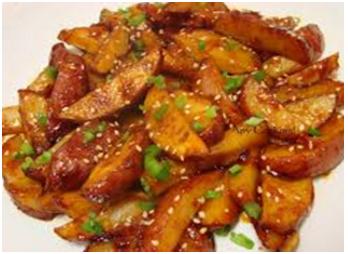Tamarind Chilli Potato Recipe