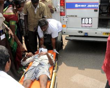 Accident in Tamil Nadu