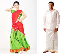 Traditional Tamilnadu Dress