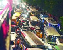 Traffic in Telangana