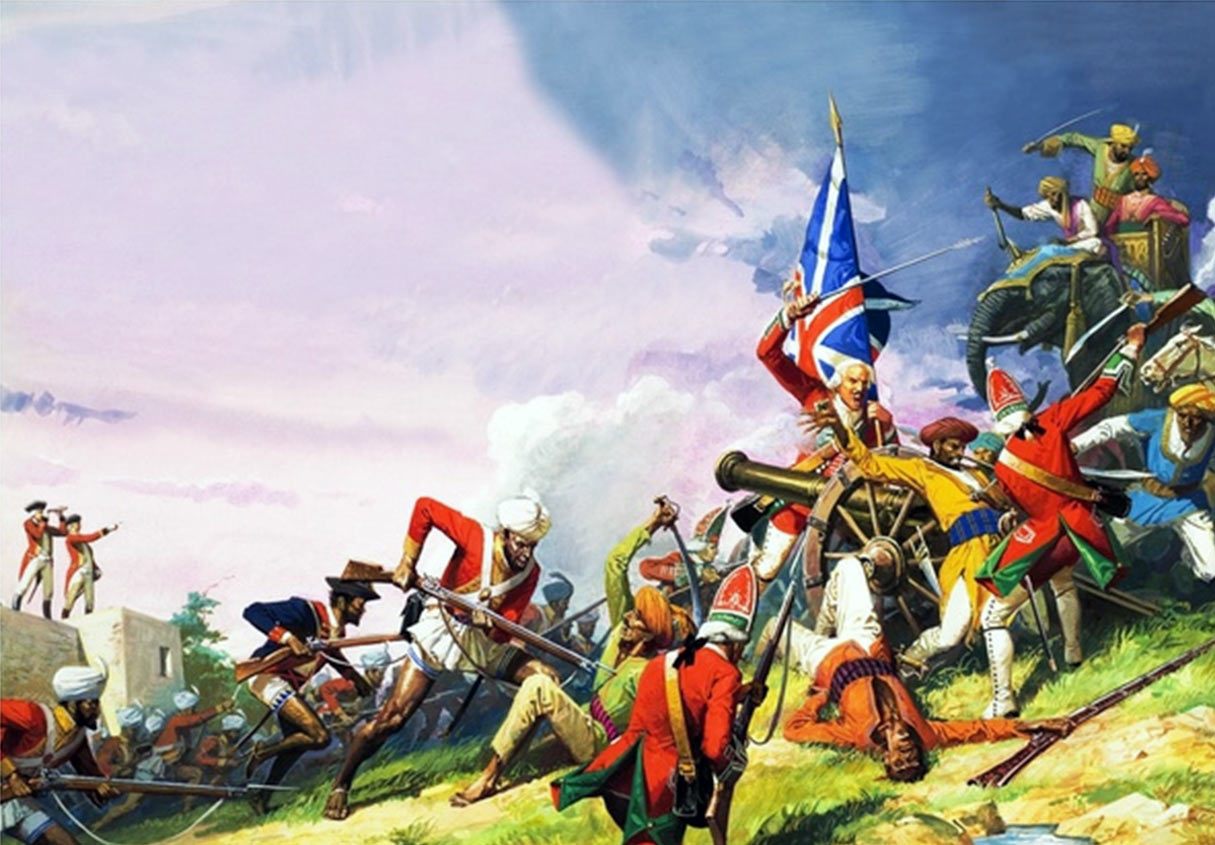 British Battle of Plassey in 1757