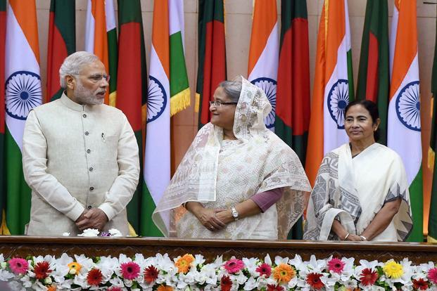 Land Boundary Agreement (LBA) between India and Bangladesh