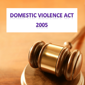 Protection from Domestic Violence Act, 2005