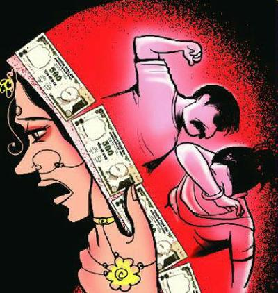 Action in the case of dowry-related harassment