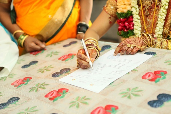 Procedure for getting marriage certificate in India